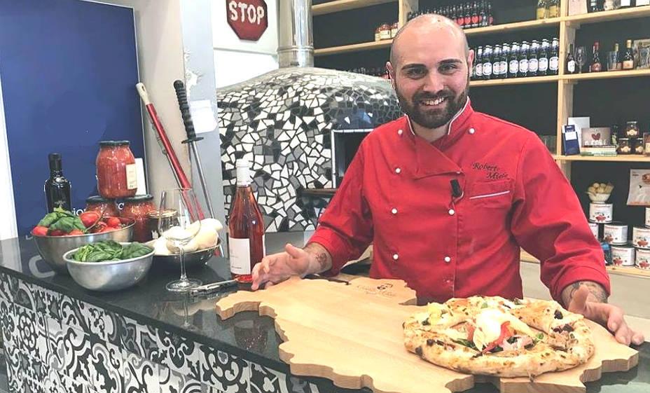 Roberto miele intervista con il pizzaiolo la taverna dei re campobasso