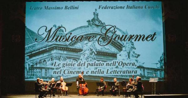 considerazioni su cibo nostrum 2019 musica e gourmet teatro bellini catania