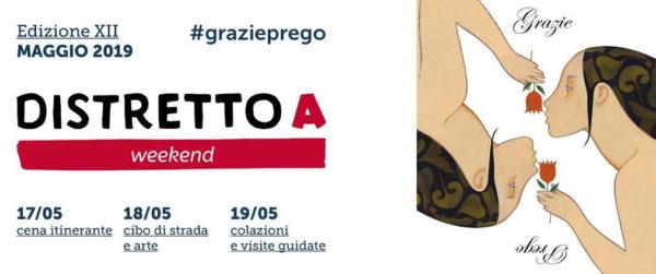 CENA ITINERANTE DISTRETTO A WEEKEND 2019