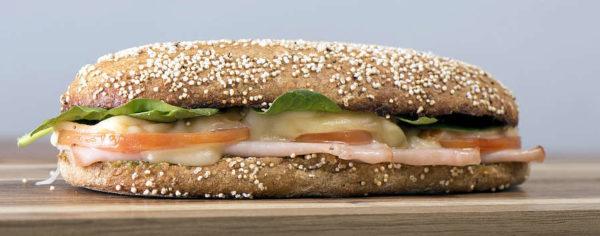 Cinema cibo e amore panino trasudante olio