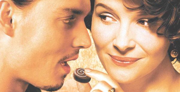 cinema cibo e amore chocolate