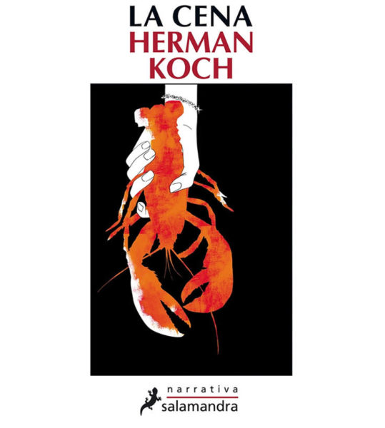 La cena di Herman Koch fronte copertina edizione italiana serena manzoni