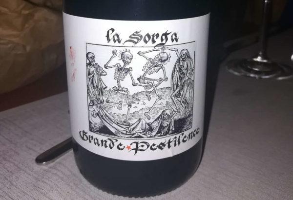 grande pestilence vin de france la sorga etichetta Anthony Tortul