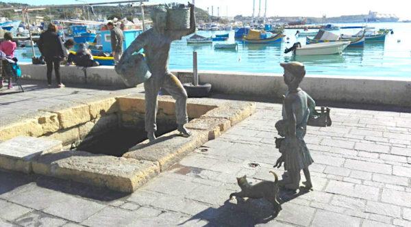t'anna mari ristorante malta monumento porto Marsaxlokk