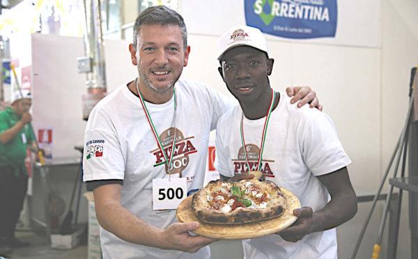 sesto Campionato Nazionale Pizza DOC Nocera inferiore pizzaioli multietnicità
