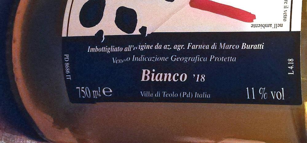 Birbo 2018 etichetta bottiglia