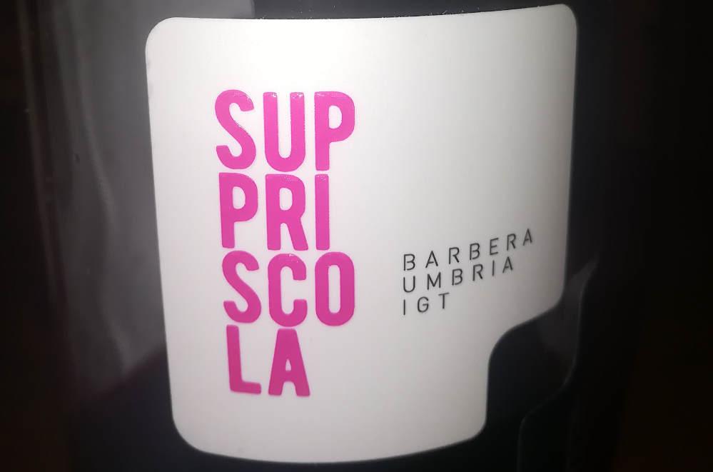 suppriscola 2018 annesanti barbera etichetta fronte