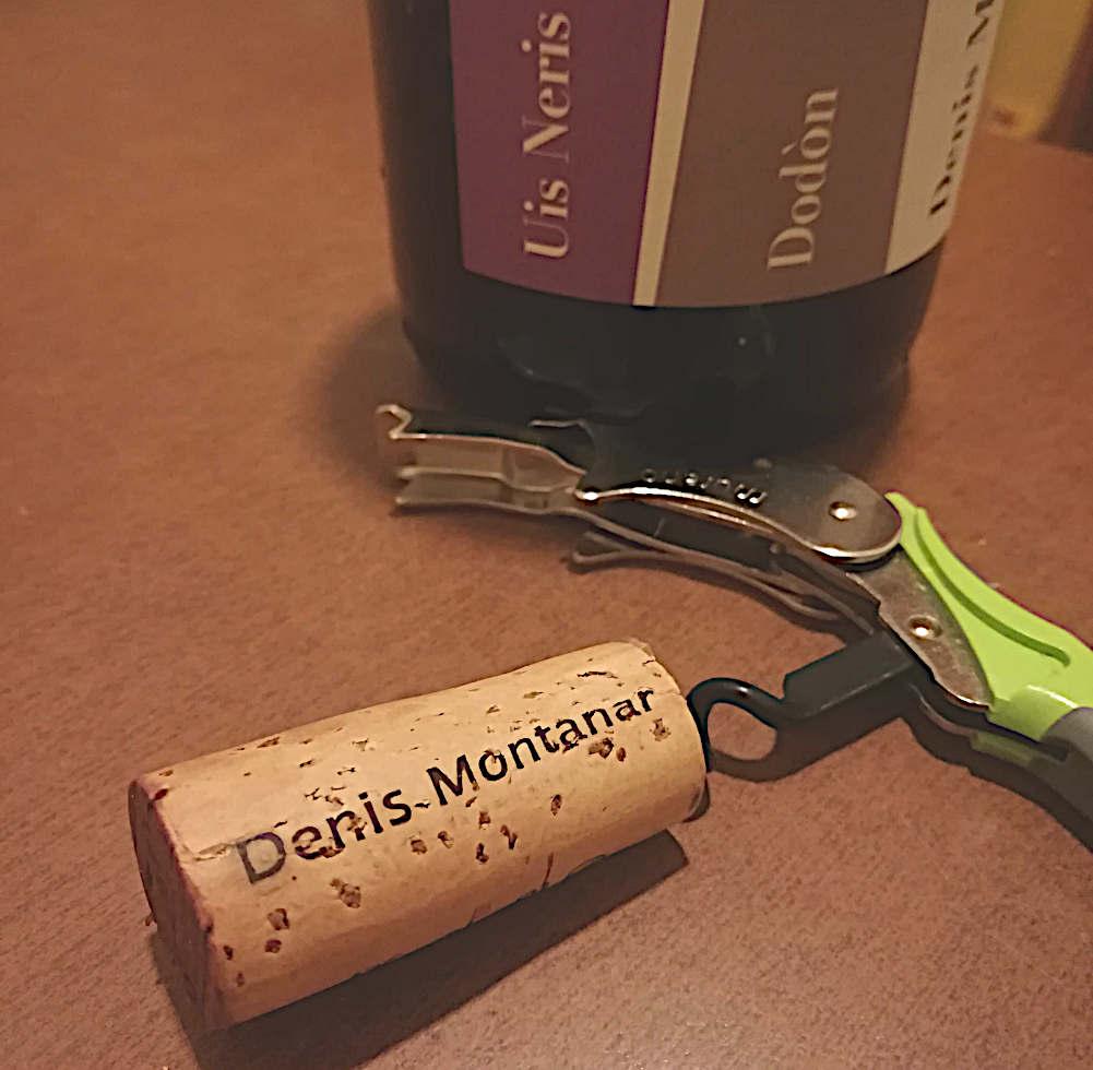 Uis Neris 2013 Denis Montanar Borc Dodòn tappo e bottiglia