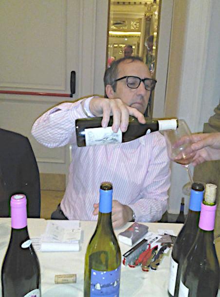 Henri Milan a vini di vignaioli Roma qualche anno addietro