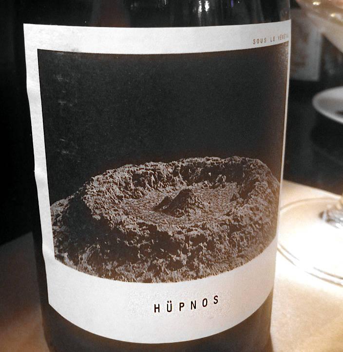Hüpnos etichetta frontale