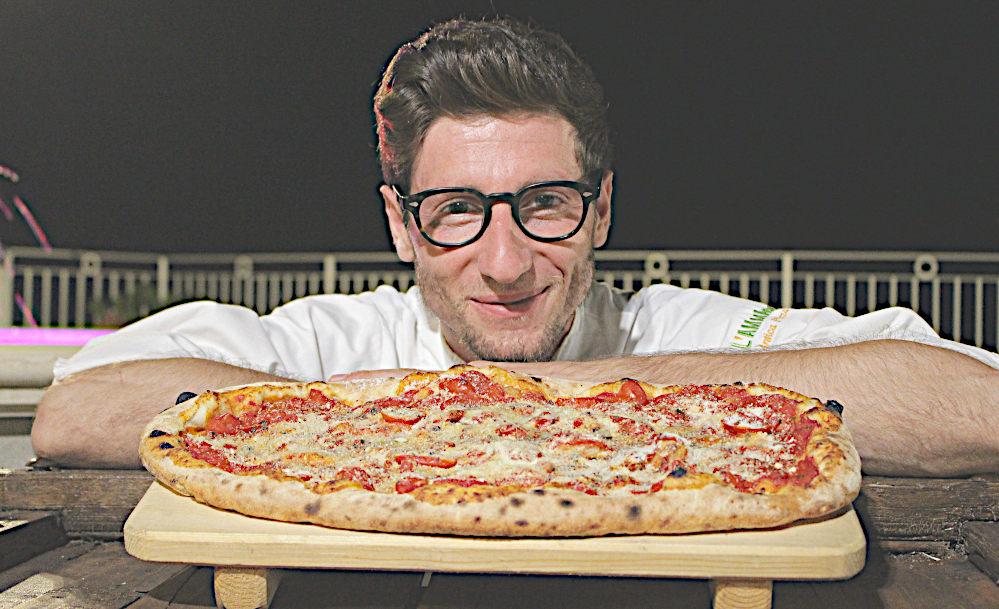 Pizza ammaccata Cilentana Cristian santomauro e le sue pizze