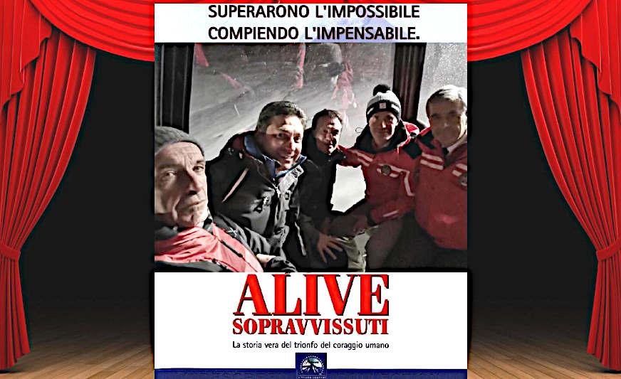 Alive SOPRAVVISSUTI ed il cibo degli Dei locandina film