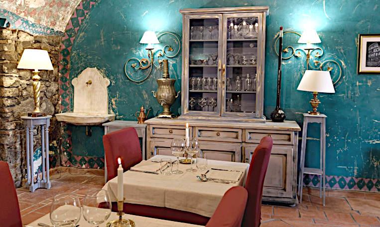 ristorante la credenza di eleonora Marino roma dettaglio sala