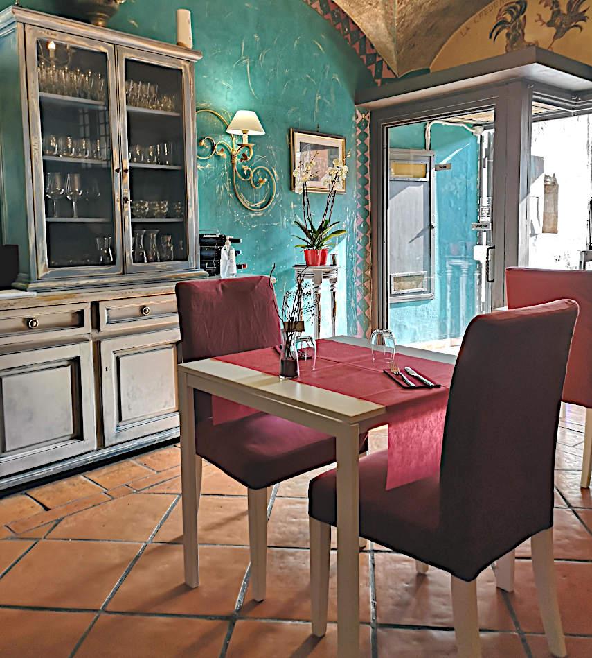 ristorante la credenza di eleonora Marino roma ingresso