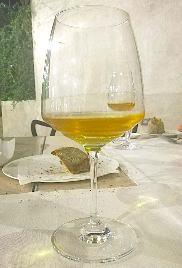 le pendu du raisin calice stefano bellotti vino naturale