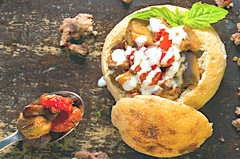 Bun al piatto tipico Pizzeria del corso pietramelara Cosimo Chiodi