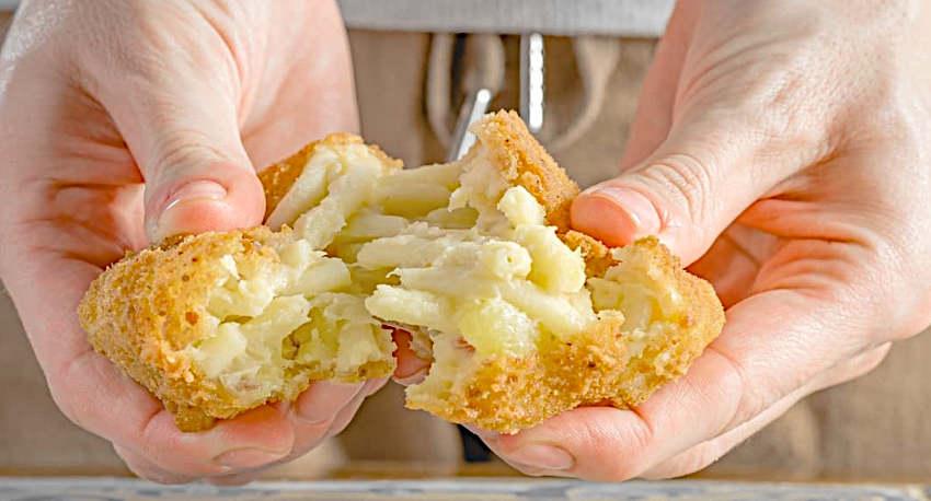 Frittatina di pasta e patate pizzeria del corso pietramelara Cosimo Chiodi